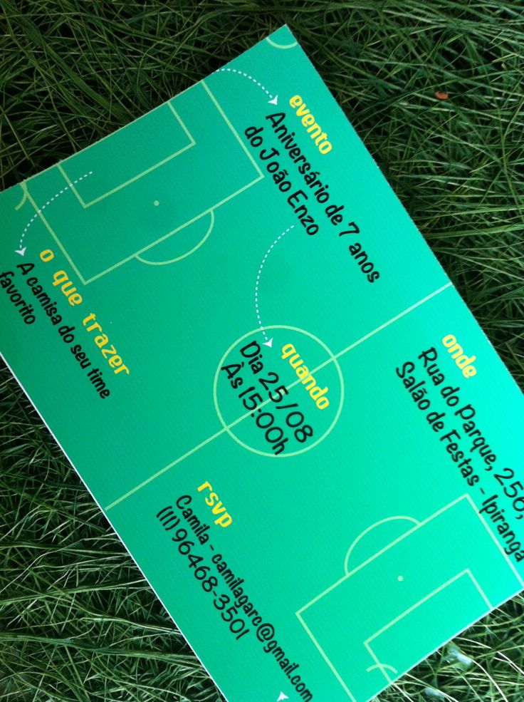 Festa Partida de Futebol by Design Festeiro
