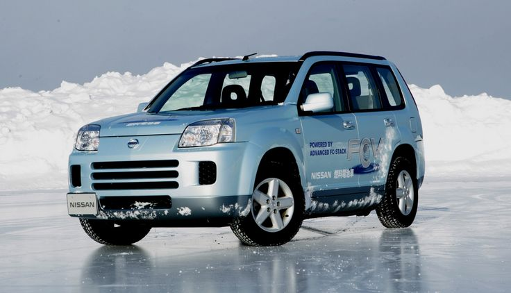 Nissan X-Trail Fuel Cell Vehicle. Fuel cells are the power source of the future but how to they work?