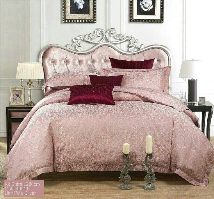 Sprei premium Posh Bedding bahan jacquard sutra. Made by order...wa 085212900722