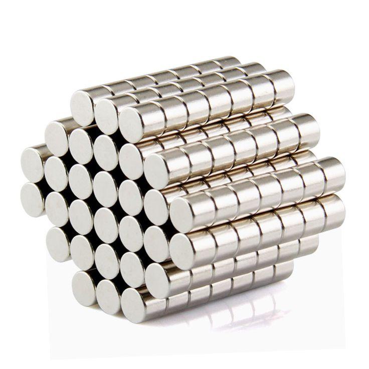 100 pcs Gratis Pengiriman Disc Mini 5x3mm N50 Rare Earth Neodymium Magnet Massal Super Magnet Yang Kuat N50