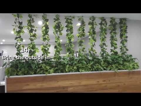 20 reasons why artificial green walls are a must for commercial spaces - YouTube