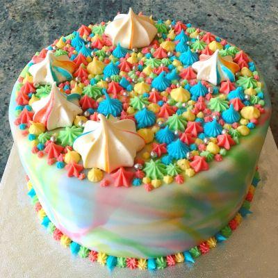 Pride Rainbow Cake Recipe | Richard Burr