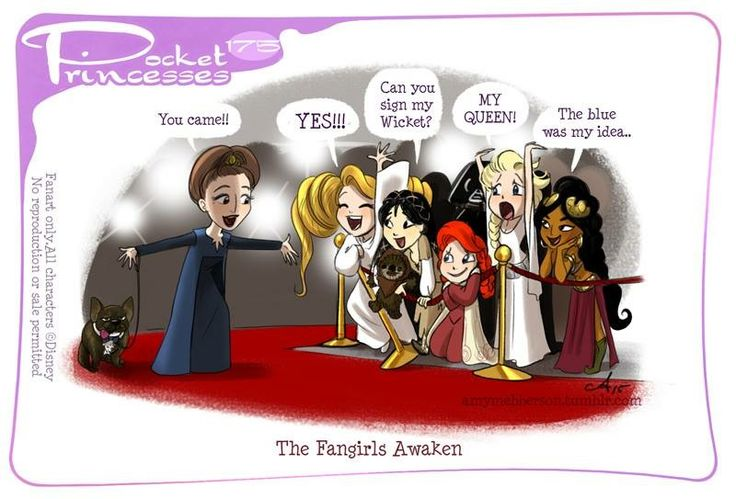 Pocket Princesses 175: The Fangirls Awaken