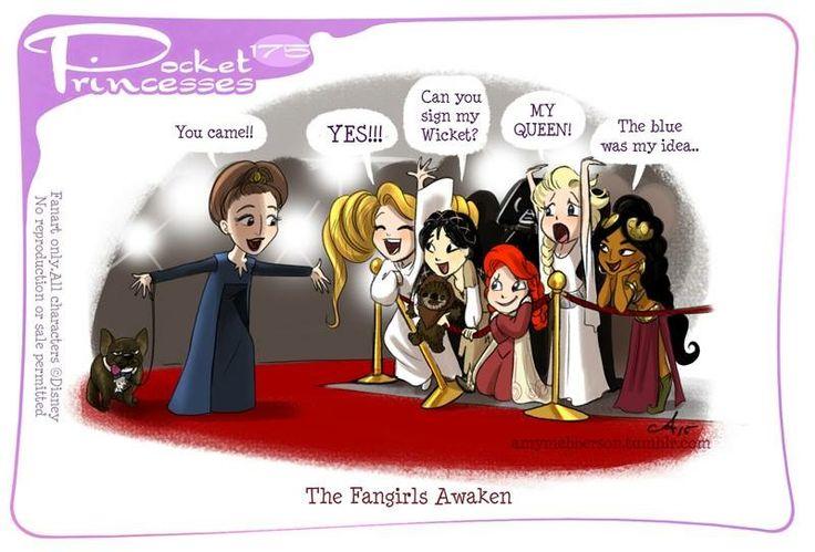 Pocket Princesses 175: The Fangirls Awaken