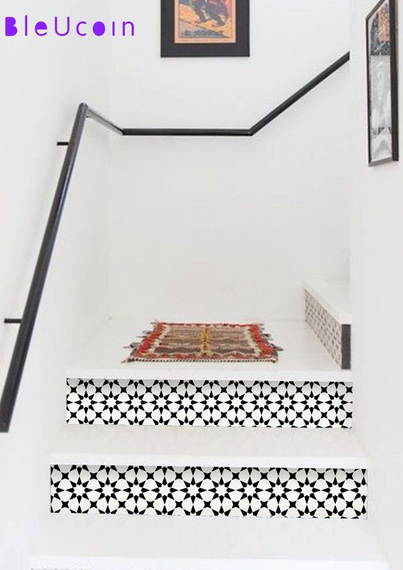 Classicism: 2017 Interior Trend   10 Strips With Length. Find This Pin And  More On Stair Riser Decor ...