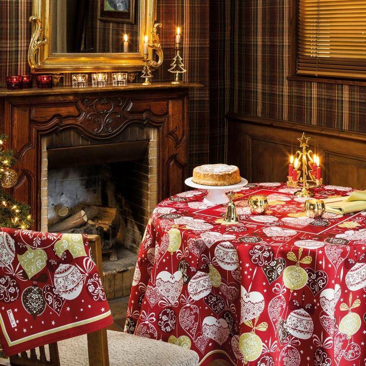 праздничные скатерти Beauville #beauville #tablecloth #скатерть #идеал_интерьер #скидки #арбат #предметы_декора