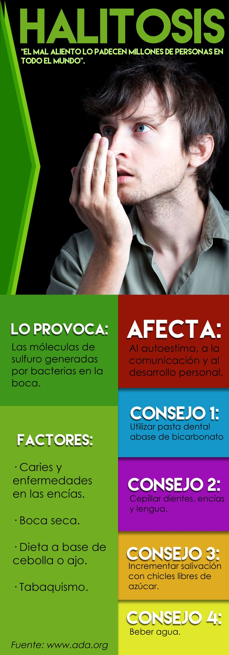 Todo sobre la Halitosis  http://www.dentart.cl/halitosis-mal-aliento/