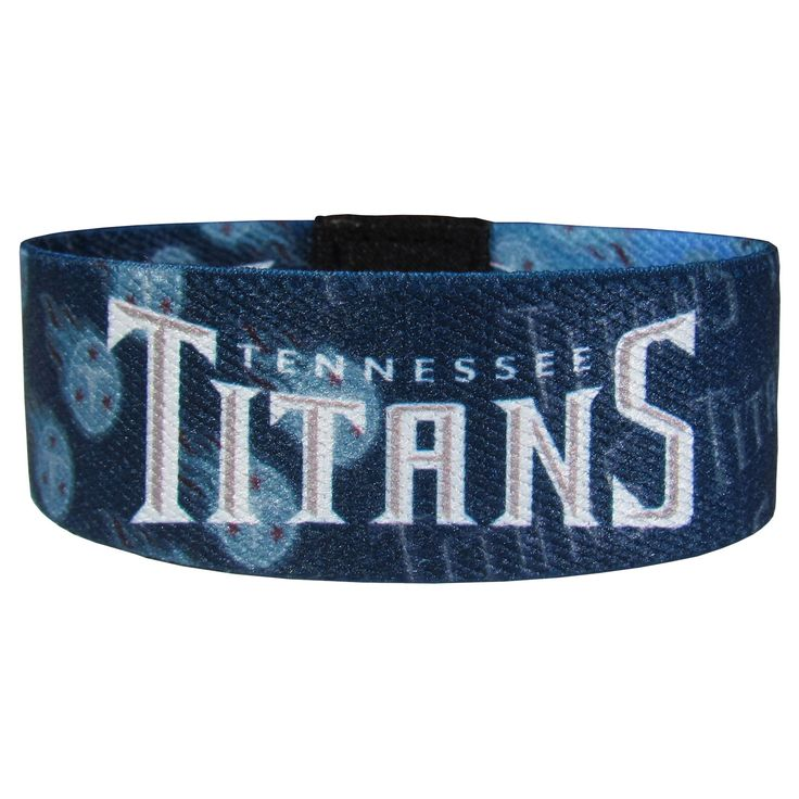 """Checkout our #LicensedGear products FREE SHIPPING + 10% OFF Coupon Code """"Official"""" Tennessee Titans Stretch Bracelets - Officially licensed NFL product Licensee: Siskiyou Buckle Stretch fabric for comfortable fit for most wrist sizes Dye sublimation graphics are sharp and bright Bracelet features the team name and logo with repeating graphics A must have for any Tennessee Titans fan! - Price: $14.00. Buy now at https://officiallylicensedgear.com/tennessee-titans-stretch-bracelets-fewb185"""