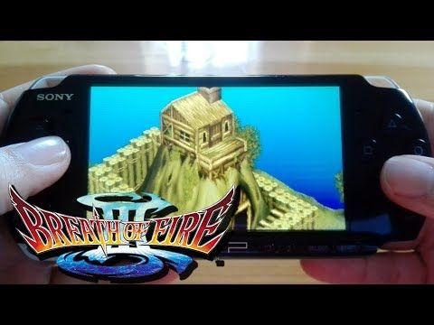 Kupo!1UP: Breath of Fire III PSP - Gameplay