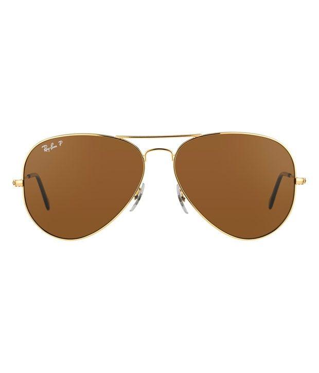 Ray-Ban RB3025 001/57 Size 62 Polarized Aviator Sunglasses