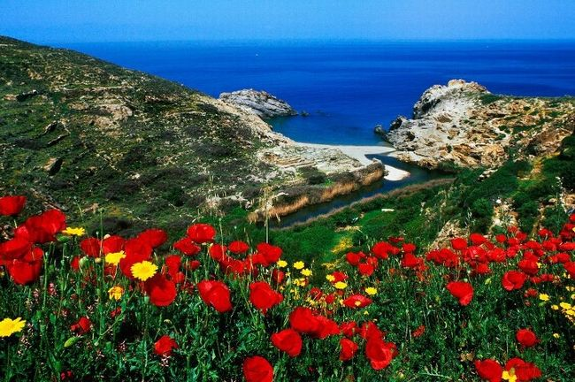 Greece Is.Ikaria...Nas city