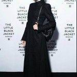 Siyah Abaya Tarzı elbise
