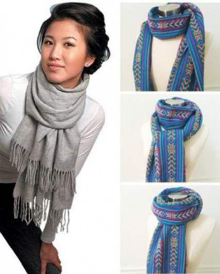 How to wear a blanket scarf shawl tie scarves 22+ ideas