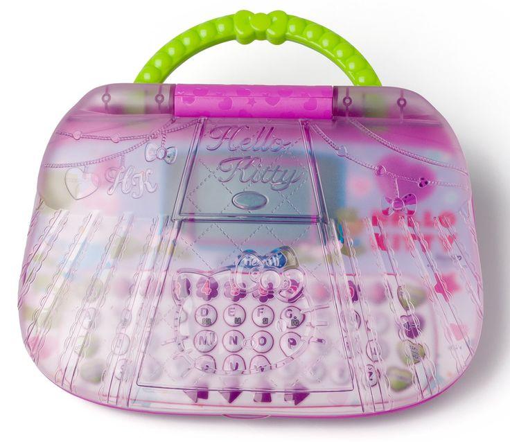 Skvělý počítač pro malé holčičky s motivy populární Hello Kitty