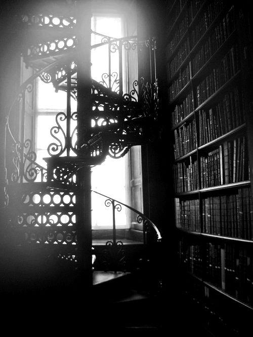 Gothic library by jum jum