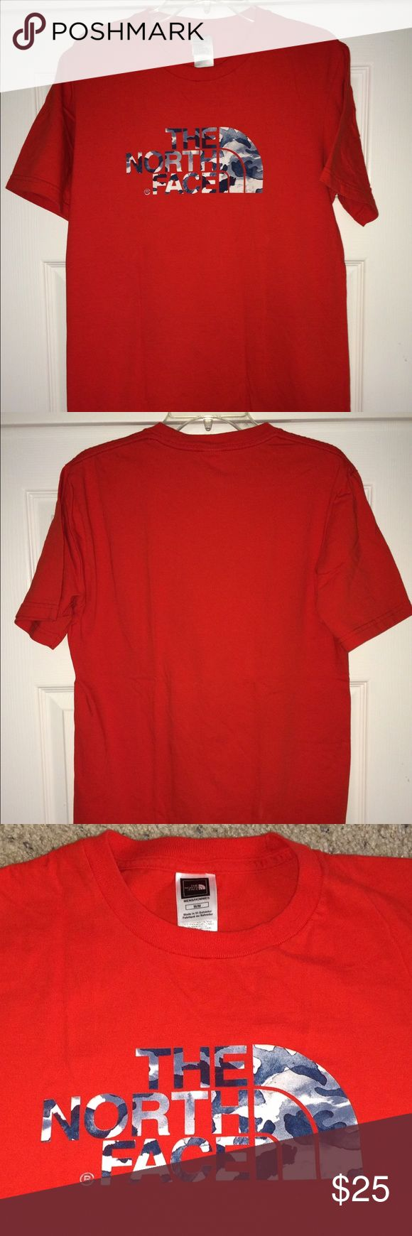 """The North Face Camo tee shirt The North Face camo tee...Men's Medium...armpit to armpit 20""""...top to bottom 28""""....Good used condition...Please see all photos and read description before purchase! The North Face Shirts Tees - Short Sleeve"""