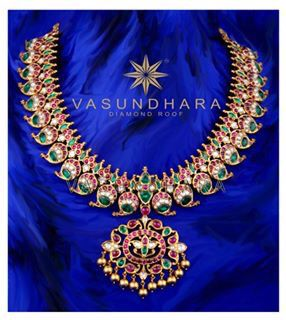 Mango necklake by Vasundhara Exclusive Jewellery Boutique- Hyderabad