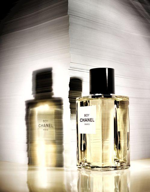 Le nouveau parfum Boy de Chanel