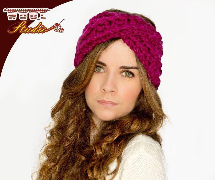 Maybe you don't want to wear a hat this winter. However, your ears are still begging for some warmth without one! Try this crochet headband pattern that will be sure to keep your hair out of your face and your ears warm in the blistering cold. Click here:http://ablog.link/5Ff to view full pattern. #TheWoolStudio #HeadBand #Pattern #YarnAddict