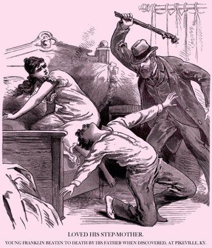 여기는 1세기 전의 미국 켄터키 팩벌( Pikeville, KY).....   딸아이 방에 젊은 프랜클린이 몰래 들어와 같이 있는 모습을 본 아버지....,