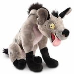 Name: Ed Manufacturer: Disney Series: Lion King Release Date: July 2011 For ages: 4 and up Details (Description): If you're looking for laughs and giggles, look no further than this Hyena Ed plush! He may be one of Scar's loyal minions in The Lion King, but his maniacal and constant grinning expression make him irresistible for plenty of hugs!