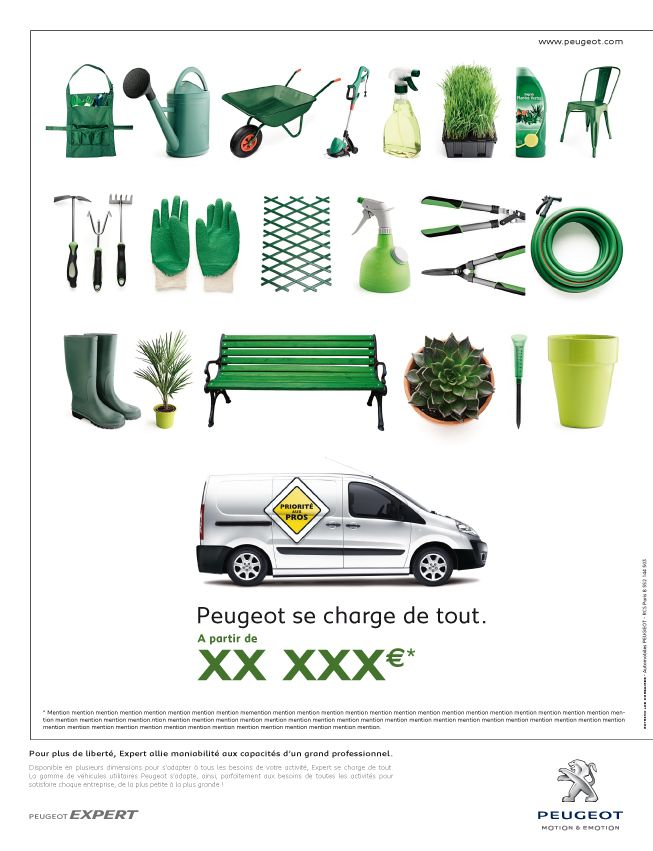 Peugeot #advertising #print I Nicolas Baral