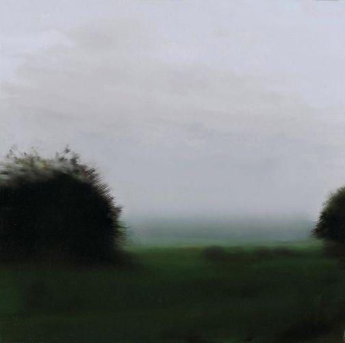 """Gerhard Richter, """"Two Trees"""", 1987  Catalogue Raisonné: 642-2. Imagen tomada de http://www.gerhard-richter.com"""