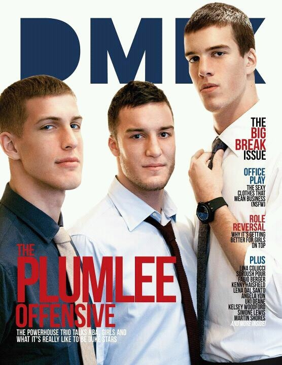 My PLUMTHREE. Love 'em. Duke Basketball's finest.