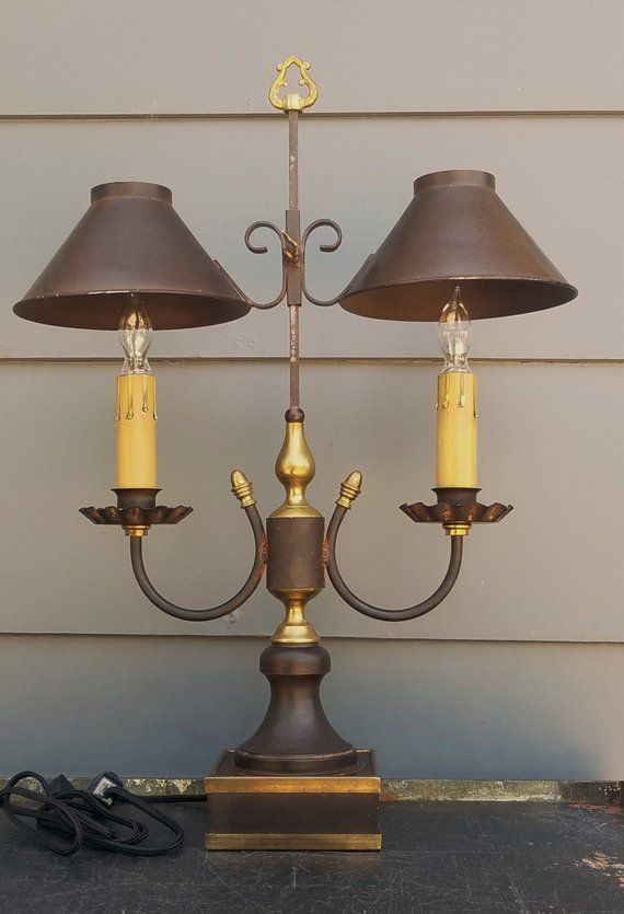 Antiques Decorative Arts Antique French Gold Gilt Bouillotte Lamp With Hallmarks Beautiful And Charming