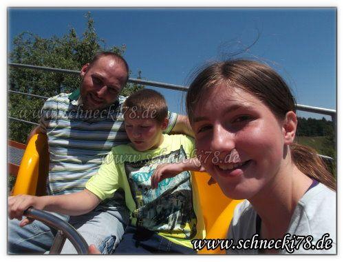 Wildwasser Rafting.... mehr auf unseren Blog http://schnecki78.de/2015/07/bayern-park #Ausflug #Family