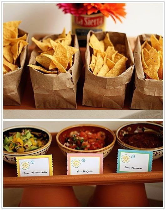 Chips And Salsa Bar