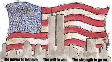 This website has free 9/11 Stationary. I have students write a poem in the perspective of a victim, firemen, police officer, or a family member. After editing we write the final draft on the stationary and hang on the wall during Constitution Week.