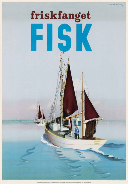 """Aage Rasmussen """"Friskfanget Fisk"""""""