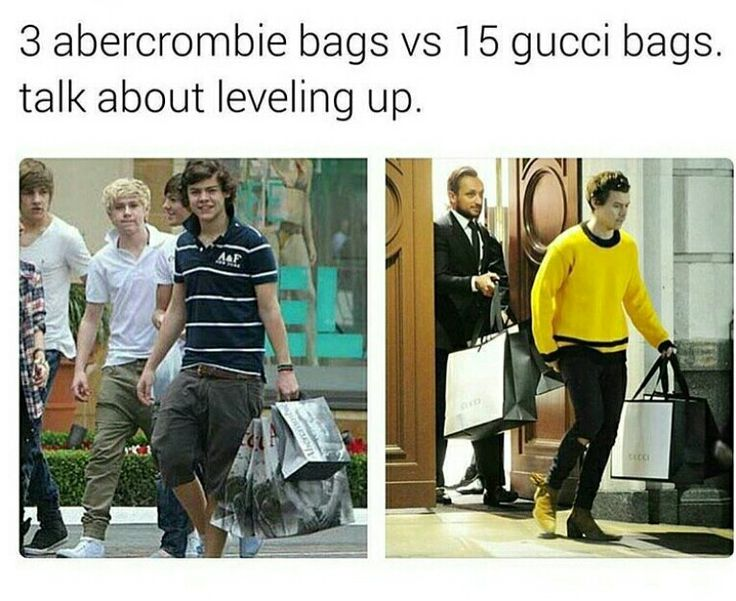 Love his new styles anyway