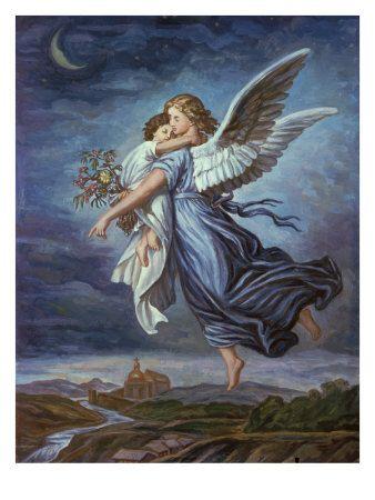 The Guardian Angel  Giclee Print