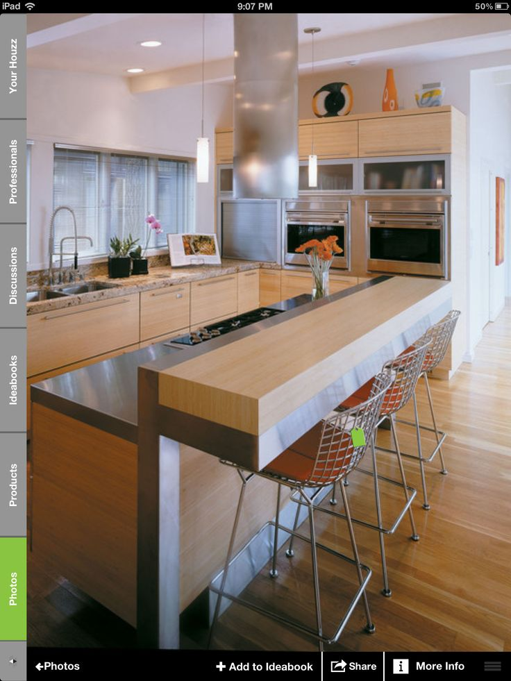 Kitchen With Raised Bar Island And Stove Kitchen Island With Sink And Bar Kitchen Island With