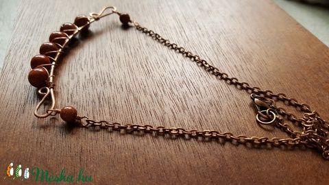 Ameya réz nyaklánc (Mirea) - Meska.hu