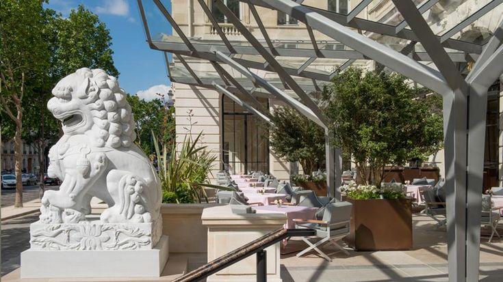 La Terrasse Kléber | The Peninsula Paris terrace restaurant