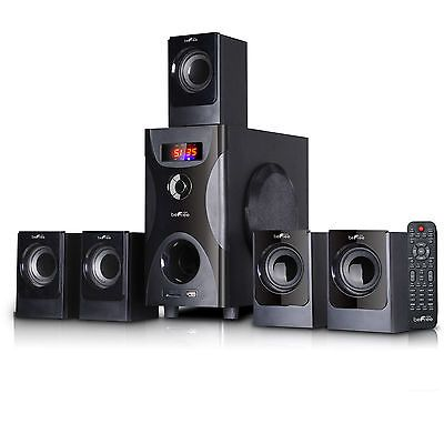 Home Speakers and Subwoofers: Befree Sound 5.1 Channel Surround Sound Bluetooth Speaker System In Black -> BUY IT NOW ONLY: $71.0 on eBay!