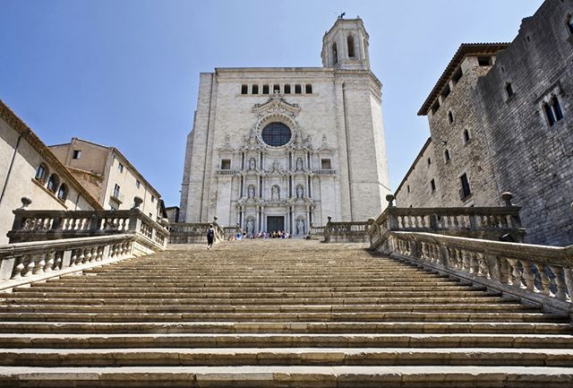 Do You Recognize This Old Church It Is The Cathedral Of Girona Or