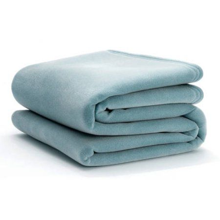 Ultra-Touch Vellux Blanket, Blue