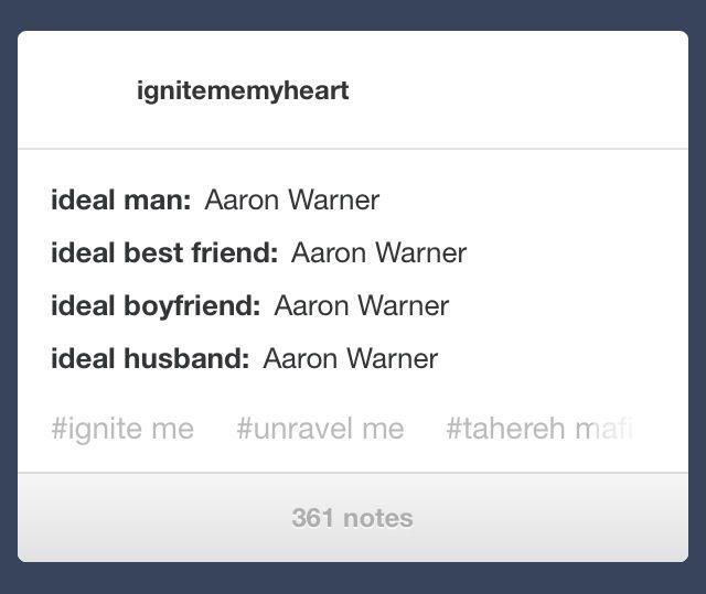 AARON. WARNER.