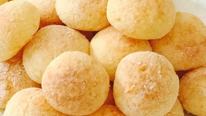 These yummy breads are made with tapioca flour instead of wheat flour, making them good for people with an intolerance to wheat.