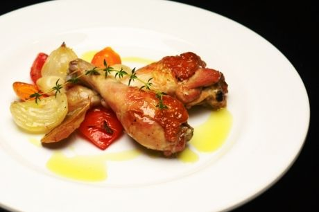 Coxa de frango à camponesa | Panelinha - Receitas que funcionam