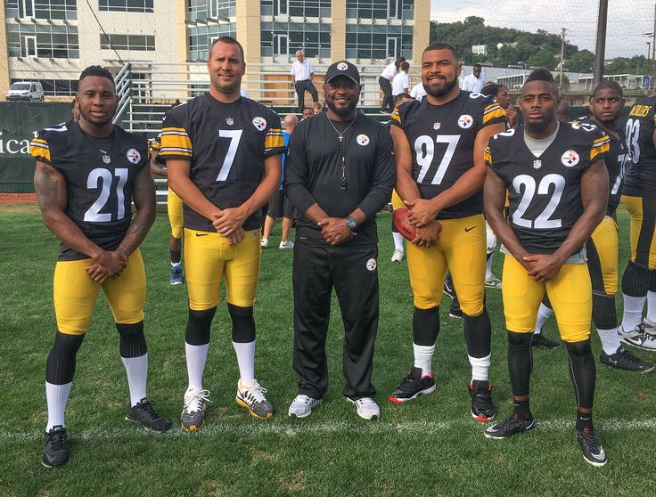 Pittsburgh Steelers - 2016 Captains