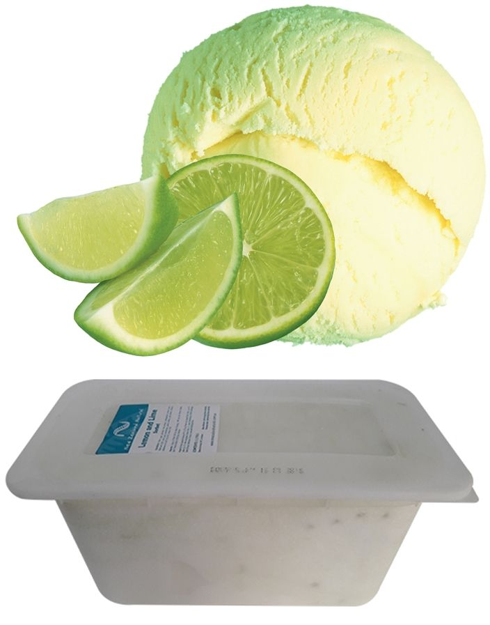 Lemon & Lime Sorbet - 6L #lemon #lime  #icecream #newzealandicecream #newzealand