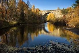 #Bridge #Autumn #River