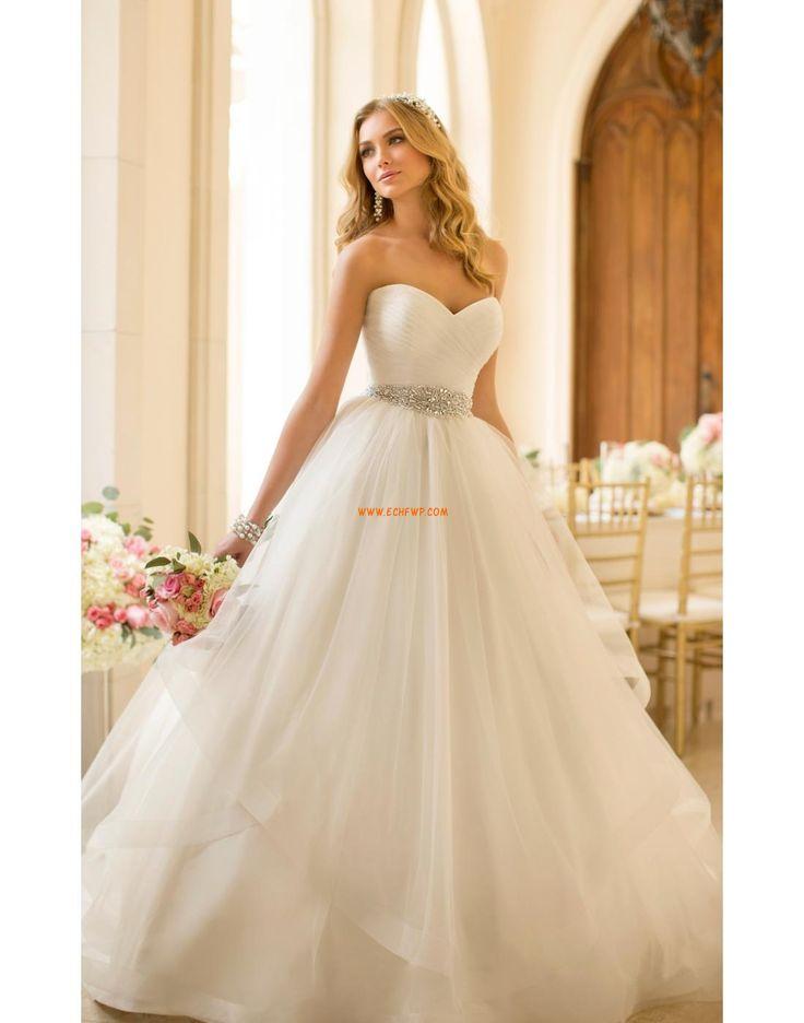 Prinsess Vår Kristalldetalj Bröllopsklänningar 2014
