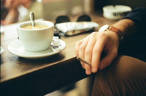 用一杯咖啡的时间想念你、咖啡