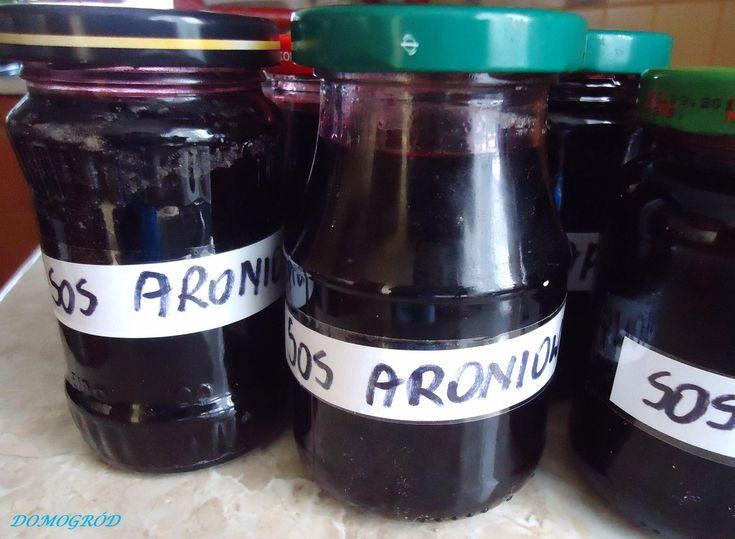 Sos z aronii zamiast tabletek na zdrowie